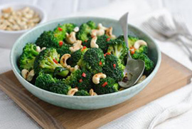 Asian Cashew Broccoli