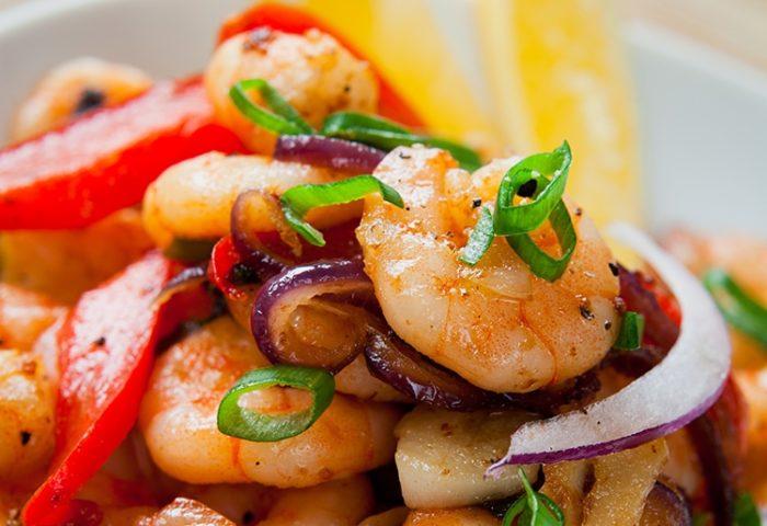 Amarillo Shrimp with Rice~NEW!