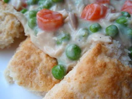 Chicken, Gravy & Biscuits