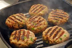 Far East Turkey Burgers~NEW!