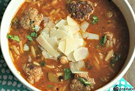 Mama Mia Meatball Soup