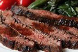 Flank Steak with Hoisin BBQ Sauce
