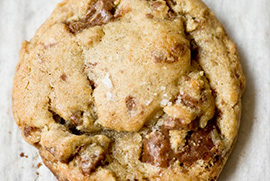 Heath Crunch Cookies