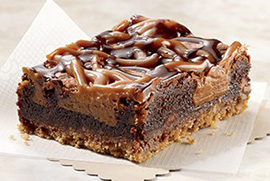 Just For Me Salted Caramel Brownie / Pretzel Crust