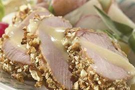 Pretzel Crusted Pork Tenderloin