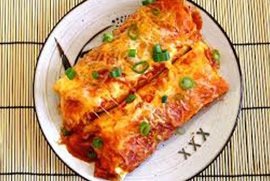 Sweet Potato Enchilada