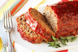 Sweet & Sassy Meatloaf
