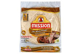 Whole Wheat Tortillas-upcharge