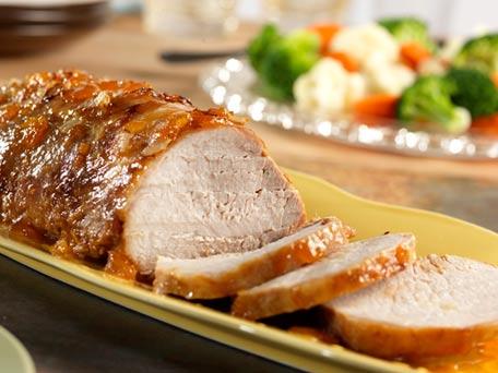 Orange Dijon Roast Pork Loin
