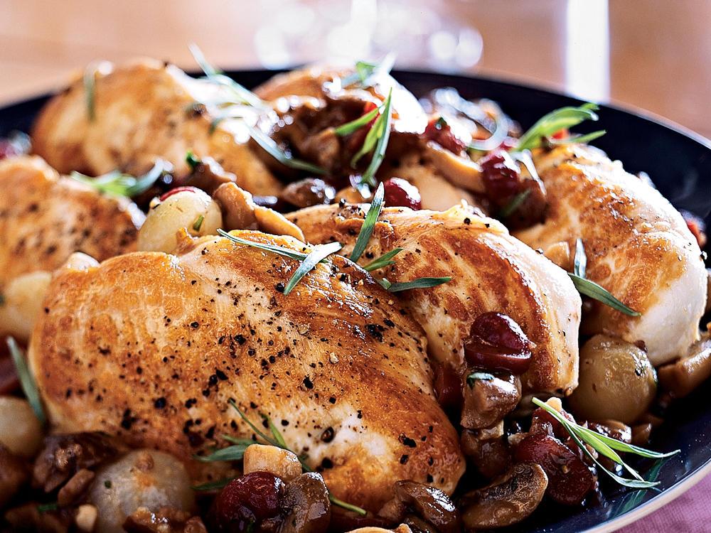 Chicken Ala Vermouth