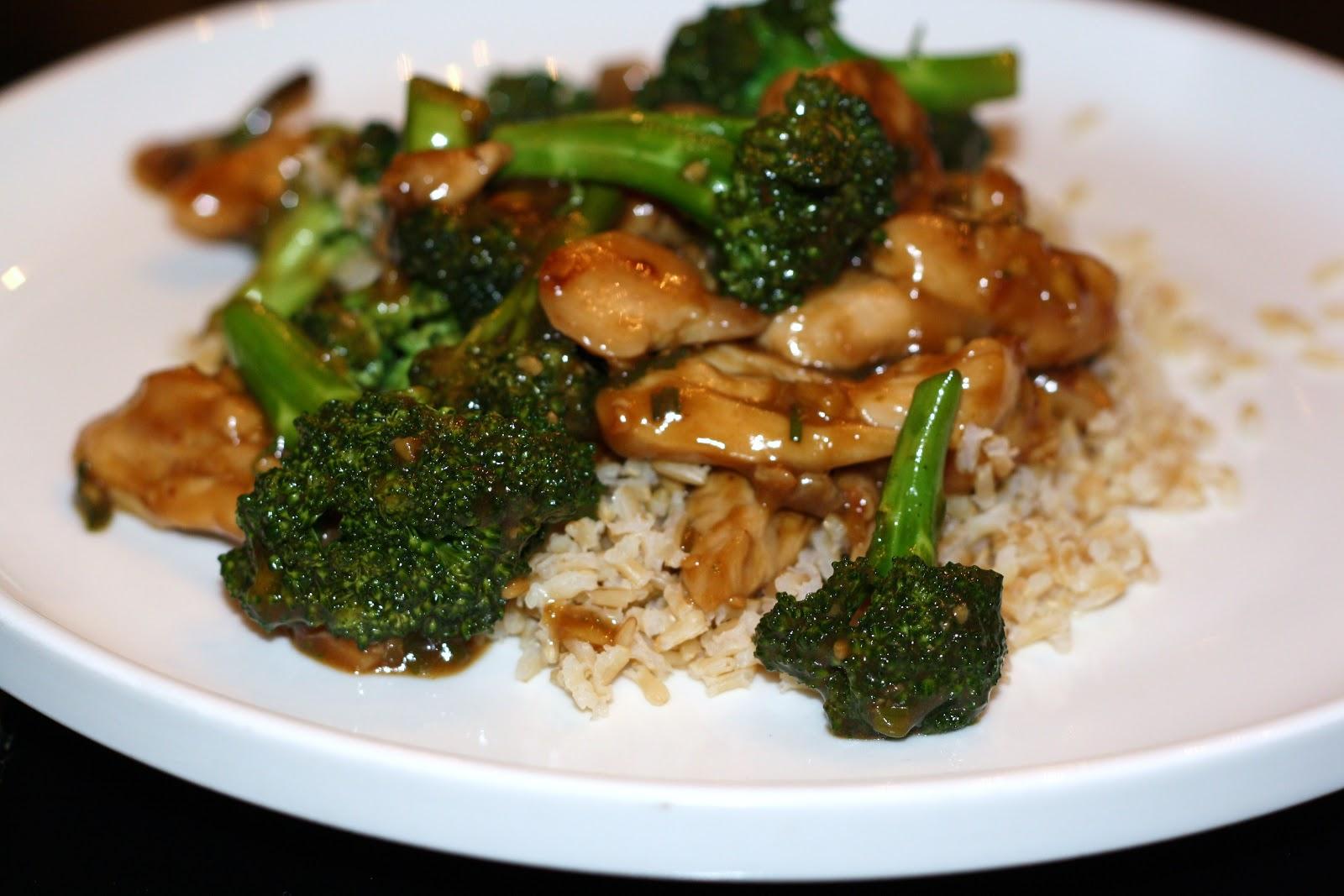 Thai Chicken with Broccoli