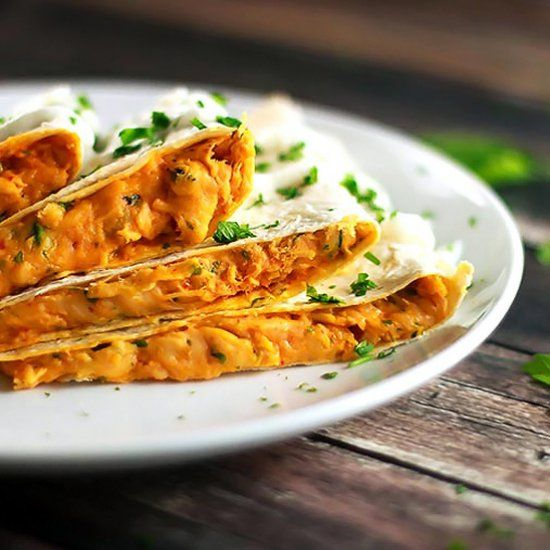 Sweet n' Heat Chicken Quesadillas
