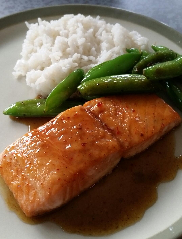 Brown Sugar Chipotle Salmon