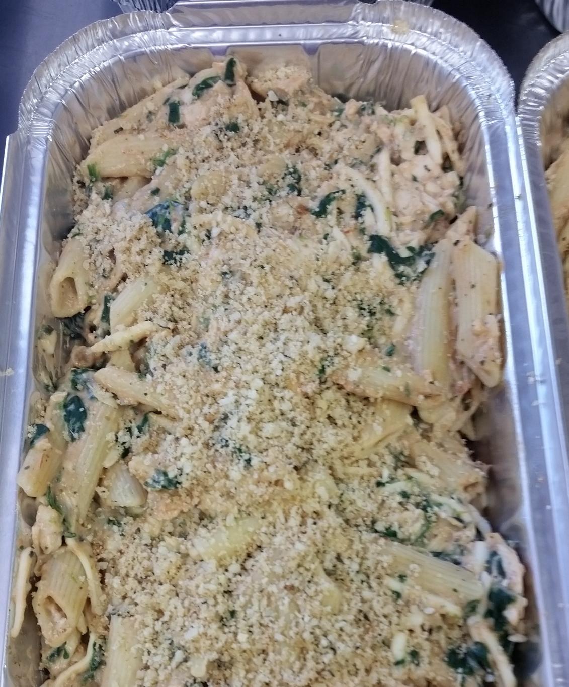 Presto Pesto Chicken Casserole