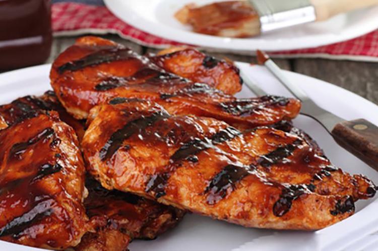 Szechuan BBQ Chicken Breasts