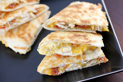Bacon Ranch Quesadillas