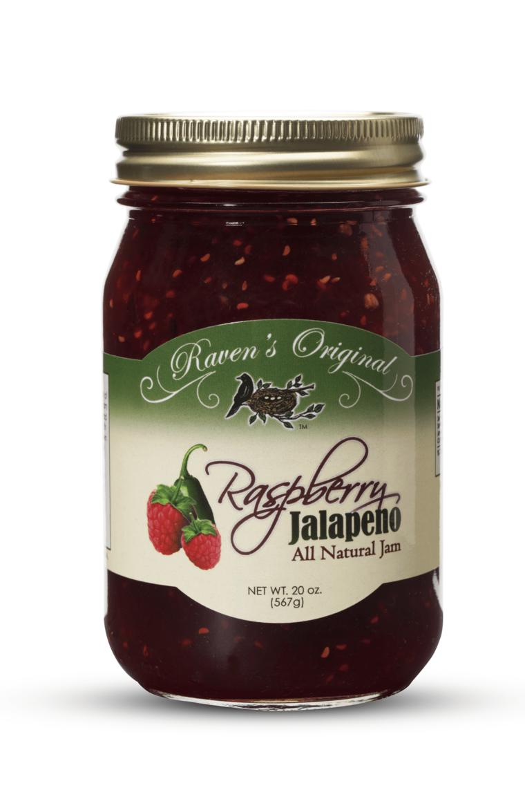 Raven's Raspberry & Jalapeno Jam