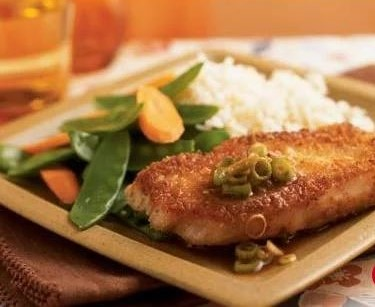 Panko Crusted Chops with Wasabi Sauce~NEW!