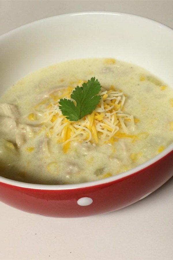 Mexican Chicken Corn Chowder~NEW!